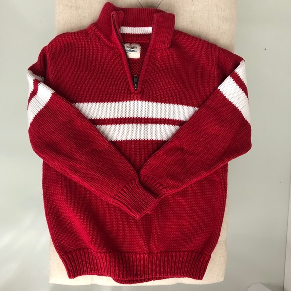 Old Navy Other - Boys mock turtleneck 1/4 zip sweater